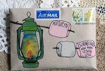 mail art and romantic stuff