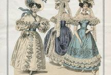 1830-1835 fashionplates ballgown