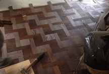 Wood flooring t / This is overlaying 9mm oak