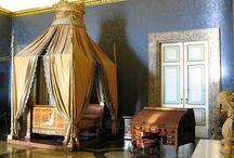 Sogni Reali. / Come dormivano i nobili del passato? Epéda vi porta in un tour tra le camere da letto dei palazzi reali più belli del mondo.