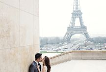 Paris wedding shoot