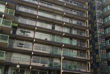Soest, Honsbergen / Renovatie, toevoegen van betonnen balkons aan bestaande galerij