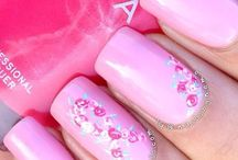 pink nails breast cancer