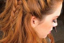 Penteados / inspiração para penteados