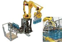 Damacana Paletleme Otomasyonu / Tara robotik Otomasyon tarafından geliştirilen özel çözümler ile damacana paletleme damacanaları palete dizme boş damacanaları hatta besleme otomasyonları robotlarla çok kolay bir iştir.