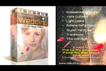 Weding Videographers' useful footages and elements! / Motion graphics and real footage elemnts useful to decorate a wedding or fashion video!