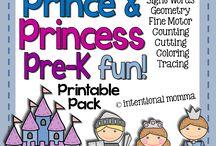 Prince, Princess & Dragon theme