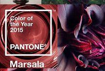 Цвет 2015 года / Несколько дней назад Pantone наконец-то объявил цвет наступающего 2015 года!