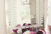wedding || table plan