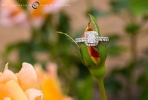 Wedding / Engagement rings. / Creative wedding and engagement ring pictures from client weddings
