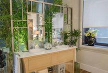 """Casa Decor 2015 - Baño elegante """"Experiencia sensorial"""" / Un baño elegante, inspirado en Oriente y en la naturaleza, con imprescindibles guiños clásicos y vocación atemporal."""