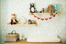 Quarto de Bebê / Ideias e inspirações de decorações para quarto de bebê