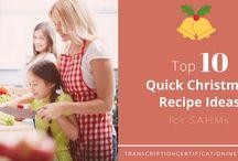Quick Christmas Recipe Ideas