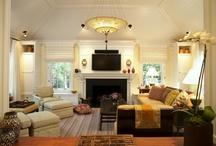 LR / FP / furniture arrangements / by Melanie Angell Elliott