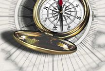 Bussola/orologio