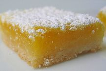 Gluten free low carb desserts / Lemon bars
