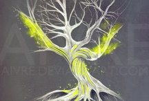 tree tatoo inspiration / by Mena Alanis