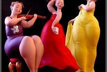 Big and Beautiful Dancing Divas