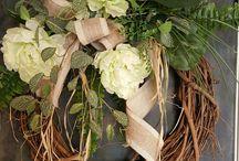 Kransen/wreath/swag