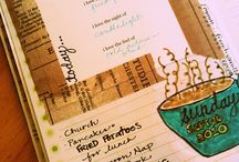 Inspiration :: Journaling / Word and picture prompts