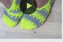 Crochets booties
