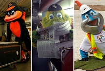 Mascots / They're just like us!