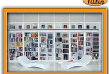 Modern Home Library Design / 100% SATISFACTION GUARANTEED Tiltin Windows, Doors & More proudly serves the area from Green Bay through Madison to the Wisconsin-Illinois border. Visit us http://utiltin.com/