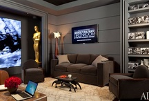2012 Oscars Greenroom / The Architectural Digest Greenroom at the 2012 Oscars®. View the stylish backstage lounge that designer Waldo Fernandez has created for the 2012 Academy Awards® featuring Schumacher fabric. / by Schumacher — Home Décor