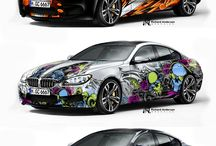 Cool Design on Car / Cool Design on Car you will ever seen online. Be there and Be Creative!