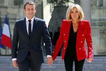 France First Lady Brigitte macron