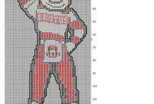 OSU cross stitch