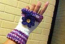 Mis cosas / Trabajos realizados a mano... 100% artesanales en técnicas de telar con aplicaciones en crochet y otros..