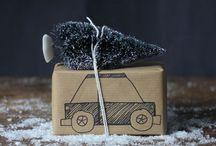 Подарки и оформление