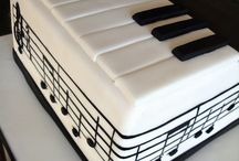 Cakes, Music / Cakes for those who love music ... There is so much talent in the cake making world. - you may like to take a look at my many other Cake & Party Boards too :)