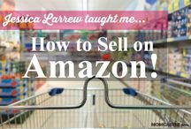 Selling on Amazon - Amazon FBA / I'm an Amazon FBA seller. That means I sell things on Amazon. I LOVE it more than anything I've ever done.  / by Sher Bailey