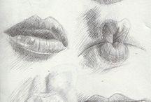 blyant - munn