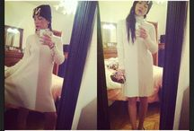 White dress in Cashmere !!! / I love this dress in Cashmere for this winter !!!