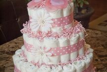 DIAPER CAKES-BABY SHOWER