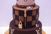 Louis Vuitton torták