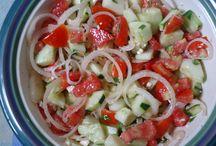 Salads / by Nicole Ishii-Skadburg