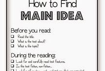 Literacy, Comprehension - Main Idea