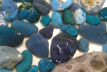 Jewelry - Leland Bluestone & Beach Glass / by Theresa Hullinger