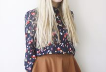 School girl wibe modern retro