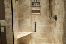 frameless showers!!