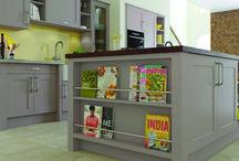 Fresh Spring Looks for Kitchens / Spring neutrals for kitchens