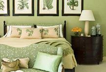 Green / Images of rooms featuring all shades and tints of Green in the color scheme. Curated by Kristine Robinson of Robinson Interiors   http://robinsoninteriors.wordpress.com/ / by Robinson Interiors