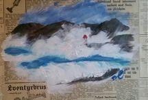 Beate Vedøy's paintings