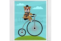 Lee ArtHaus English Bulldog Products / Lee ArtHaus English Bulldog Products