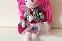 amigurumi dolls / by Astrid van Vemden