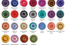 Sweet roll..crochet wool...